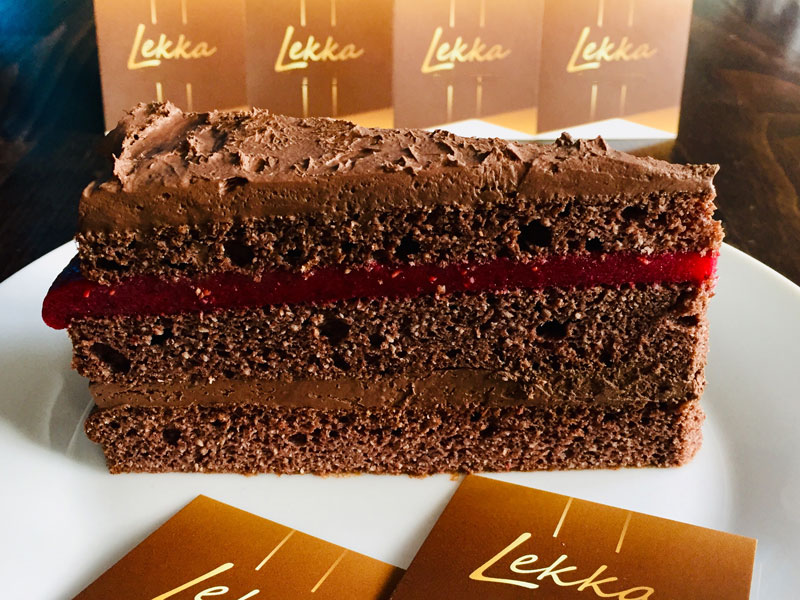Chocolate-Himbeer-Torte